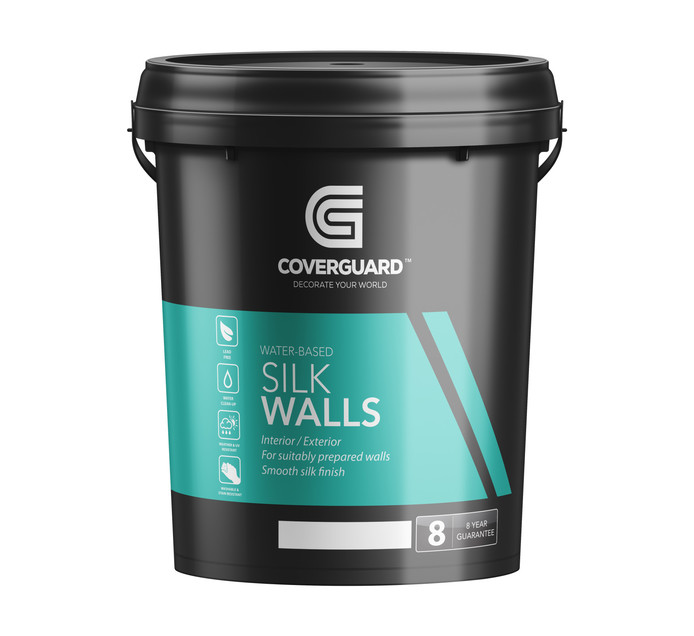 COVERGUARD 20 l Silk Walls Med Sheen Fusion grey