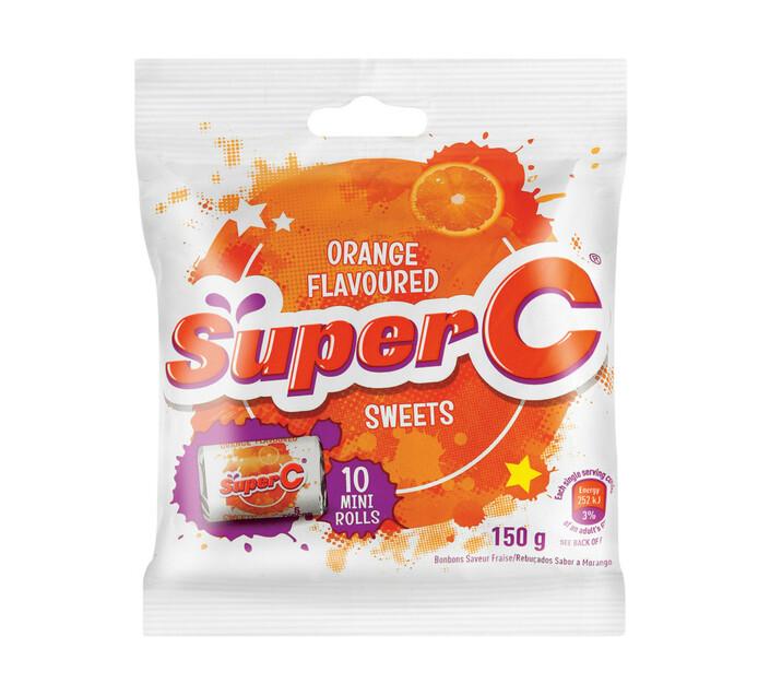 Super C Candy Mini Roll Orange (1 x 150g)
