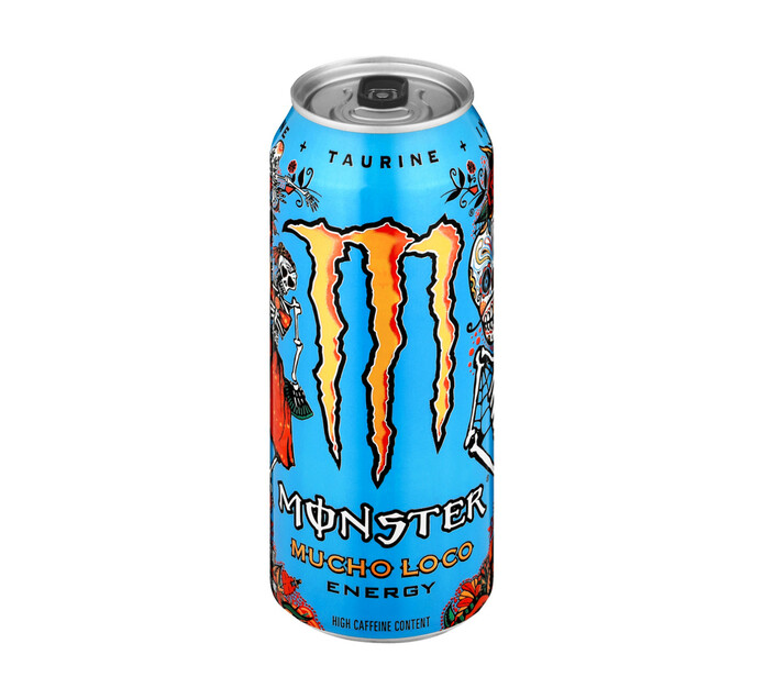 Monster Energy Drink Mango Loco (4 x 500ml)