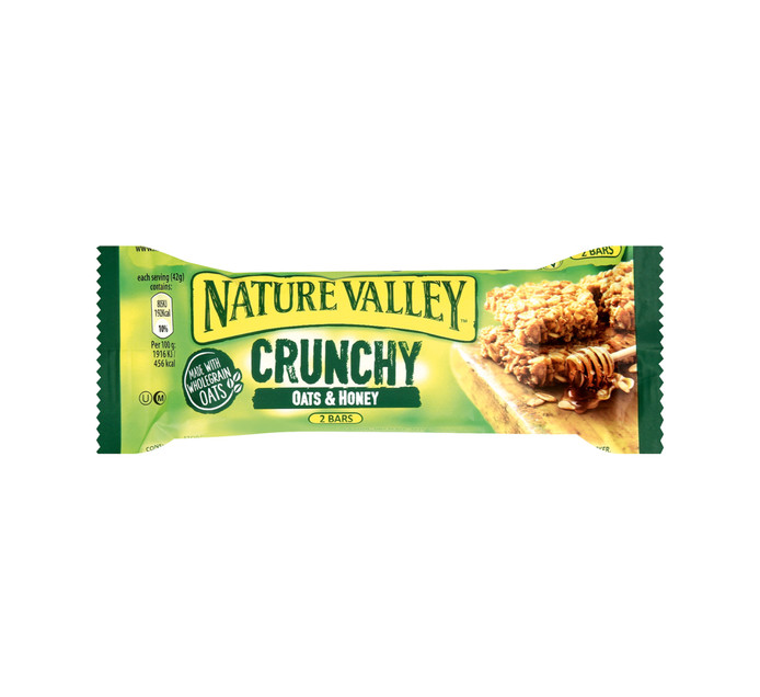 NATURE VALLEY Granola Bars Crunchy Oats and Honey (18 x 42g)