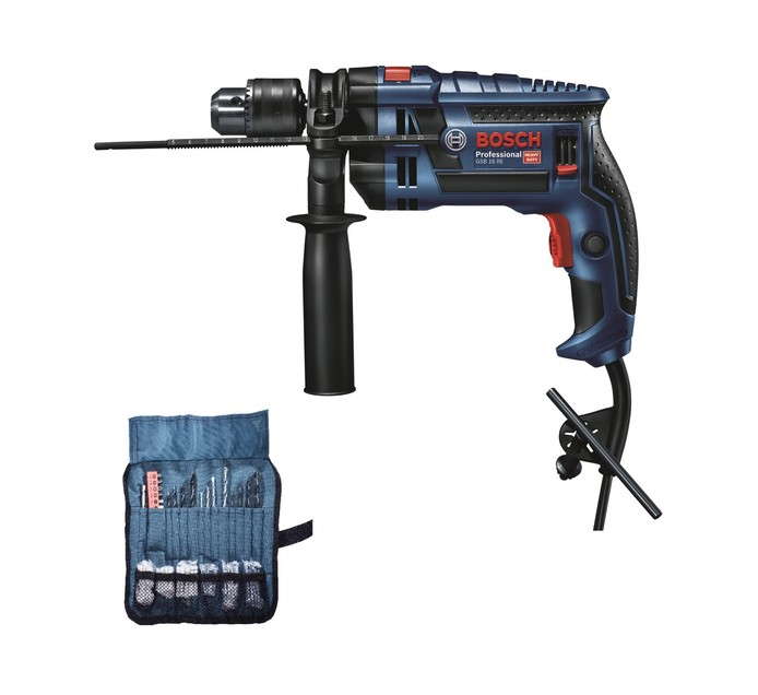 Bosch 750 W Impact Drill with 100 Accessories