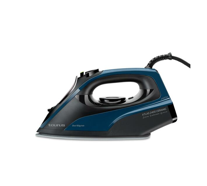 Iron Steam / Dry / Spray Ceramic Blue 275ml 2400W `Atlas 2400