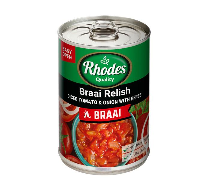 Rhodes Tomato Braai Relish (1 x 410g)