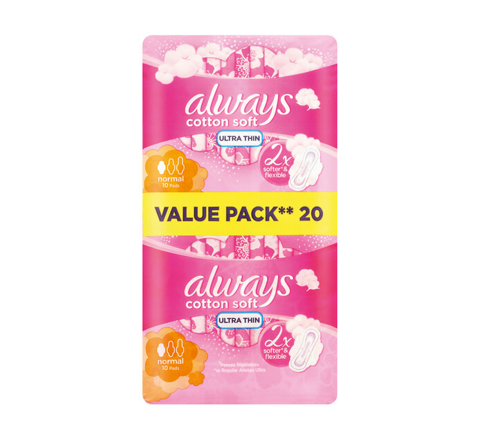 Always Senitive Sanitary Pads Ultra Normal Plus (1 x 20's)