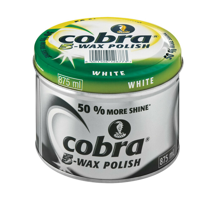 Cobra Floor Polish White (1 x 875ml)