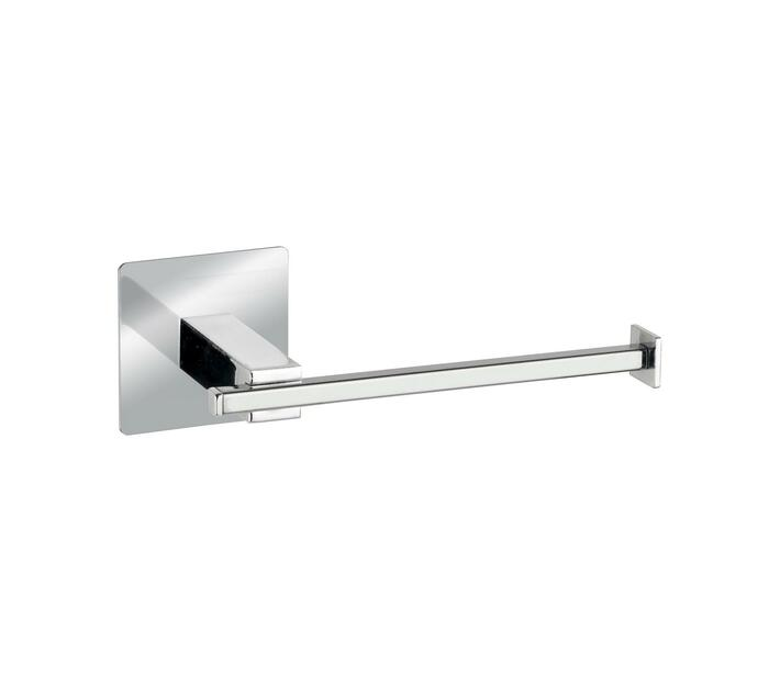 WENKO Turbo-Loc S/Steel Toilet Paper Holder Quadro Range - No Drilling