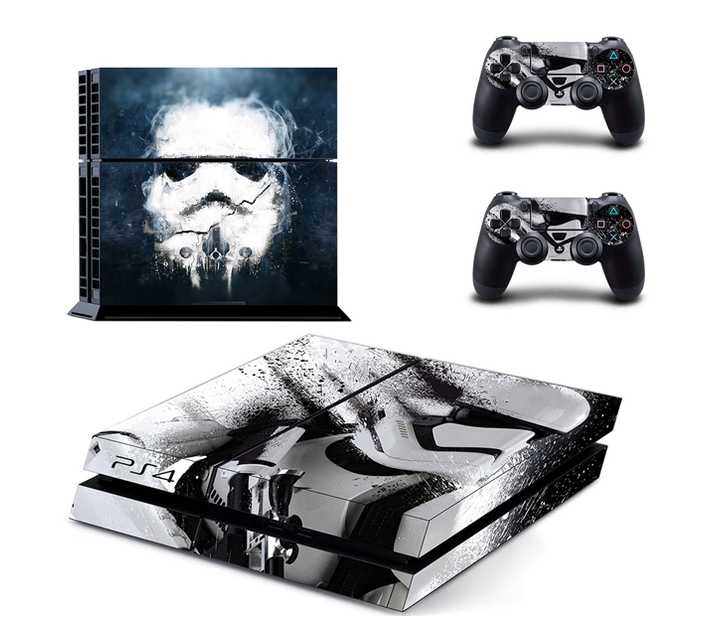 SKIN-NIT Decal Skin For PS4: Stormtrooper