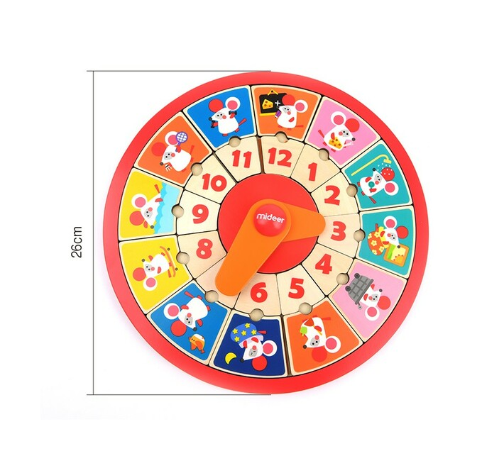Mideer Educational Puzzle Clock