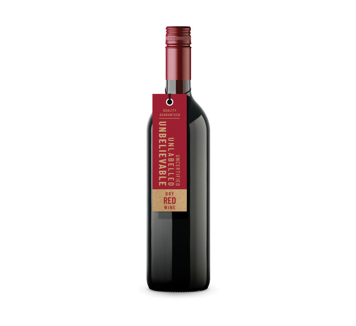 Unbelievable Red (6 x 750 ml)