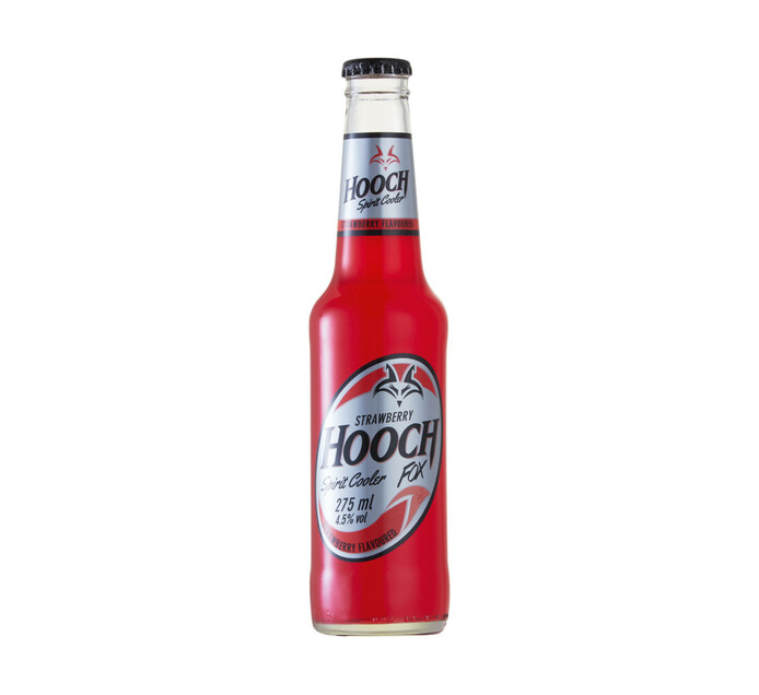 Hooch Fox Strawberry (24 x 275ml)