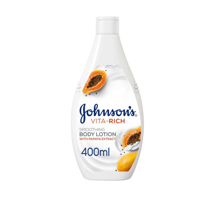 Johnsons Vita Rich Body Lotion Smoothing (1 x 400ml)