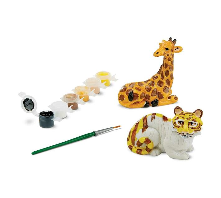 Decorate Your Own Zoo Figurines