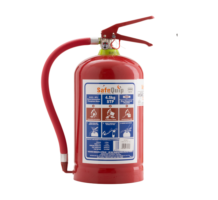 SAFE QUIP 4.5kg Fire Extinguisher