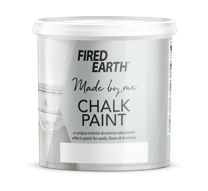 FIRED EARTH CHALK PAINT 1L, BISTRO GREY