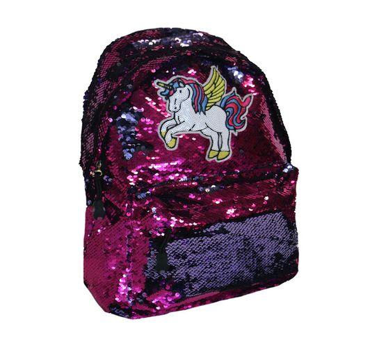 30 cm Fashion Laser/Sequin Backpack