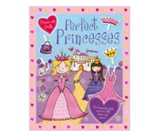 Press Out Dolls Perfect Princesses S/C
