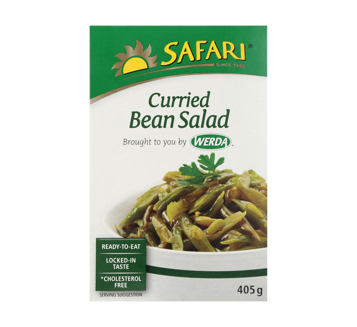 SAFARI Salad Curried Beans (1  x 405g)