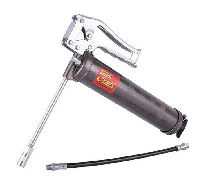 Pistol Grip Grease Gun Cartridge Type C/W Flexible Spout + Fixed Spout