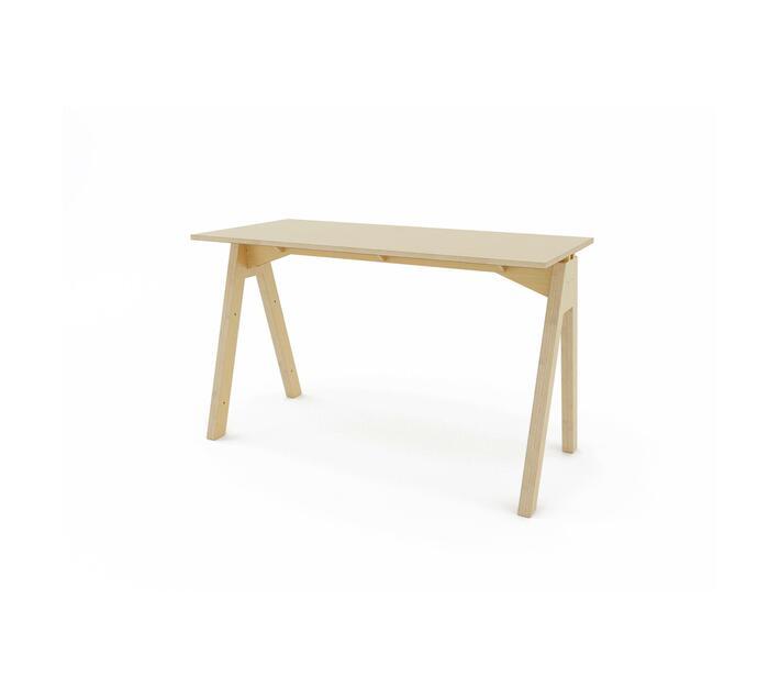 Simple A Desk - Natural