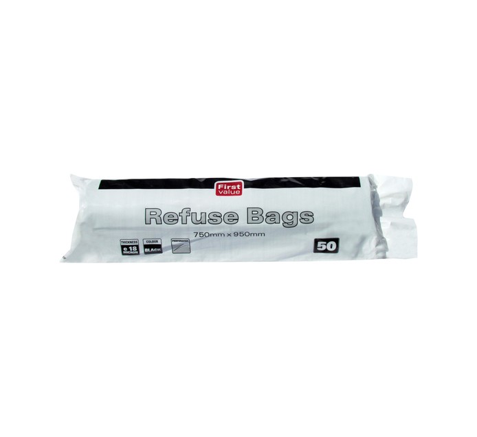 FIRST VALUE Refuse Bags (1 x 50's)