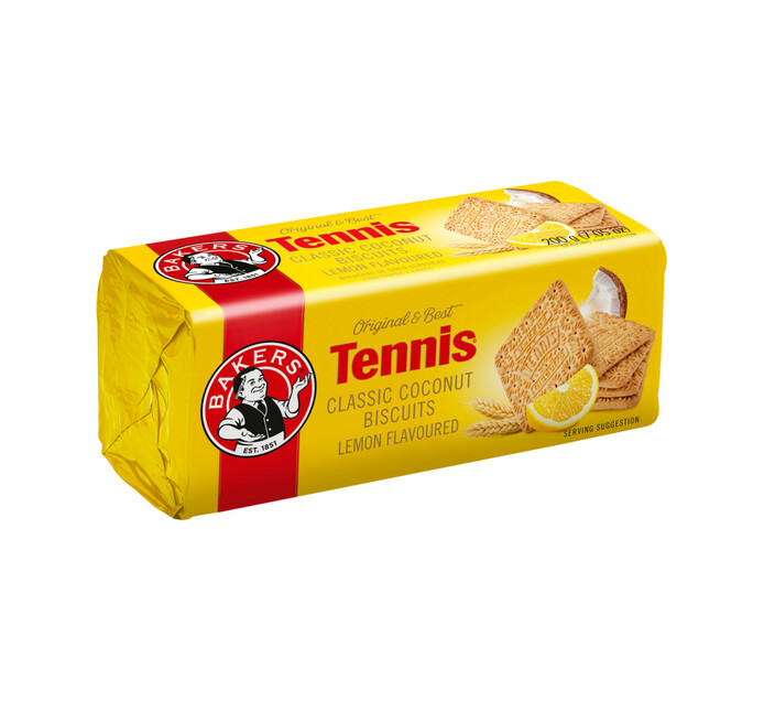 Bakers Tennis Biscuits Lemon (1 x 200g)