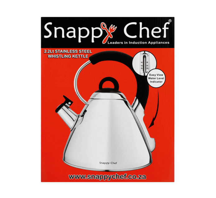 Snappy Chef 2.2 l Whistling Kettle