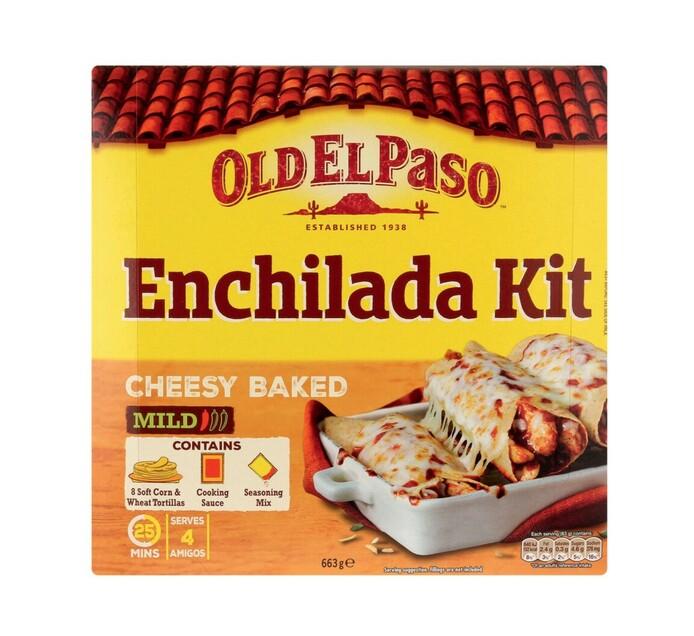 Old El Paso Mild Cheesy Enchilada (1 x 663g)