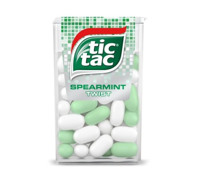 Tic Tac Sweets Spearmint Twist (24 x 16g)