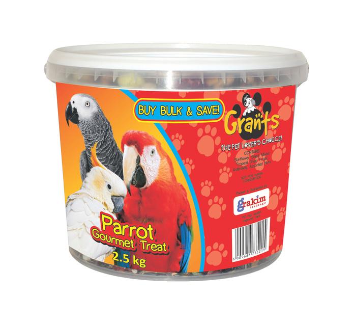 GRANTS Gourmet Bucket Parrot (1 x 2.5kg)