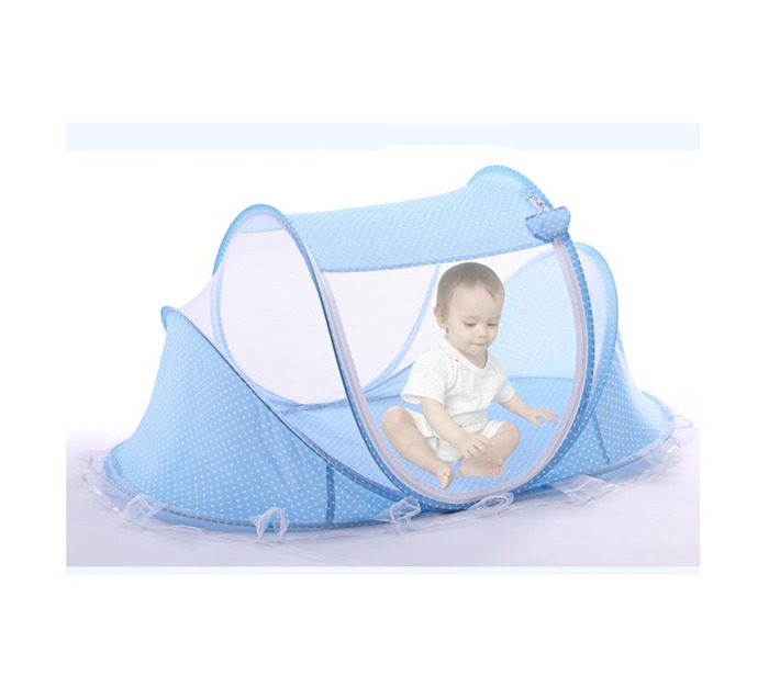Totland Foldable Mosquito Tent - Blue