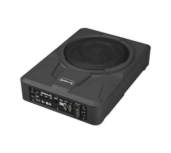 Helix-Ultra-compact 20 cm /8` active subwoofer Power RMS / max.: 180 / 360 Watts