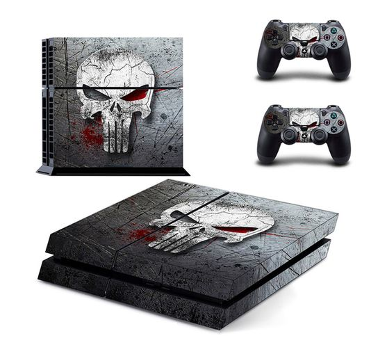 SKIN-NIT Decal Skin For PS4: The Punisher