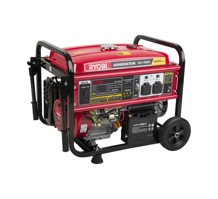 Ryobi 7 kVA 4-Stroke Petrol Key-Start Generator