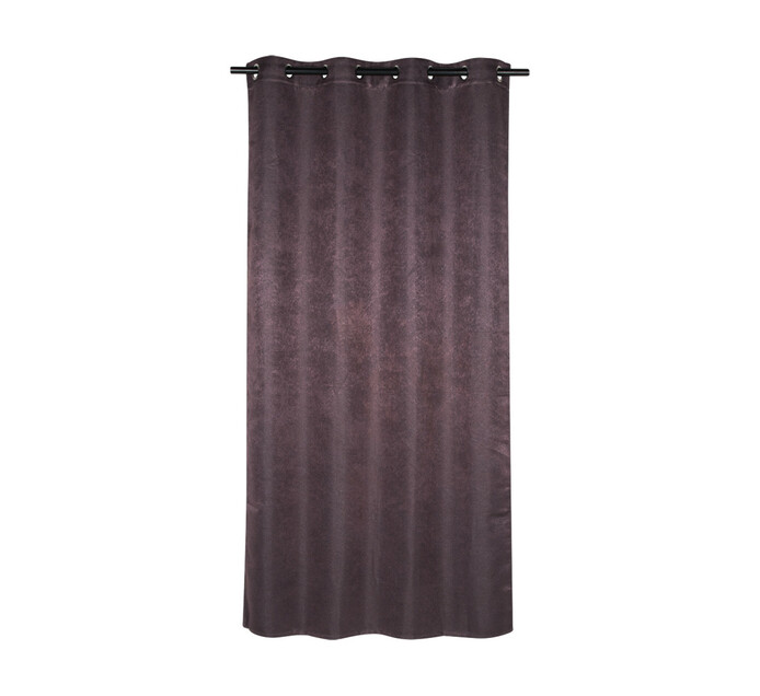 Design Collection 135 x 225 Textured Eyelet Curtain Port