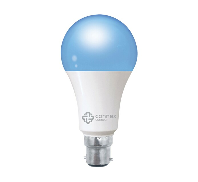 Connex Smart Tech LED Bulb, RGBW, A70, 10W 1080 Lum, Screw