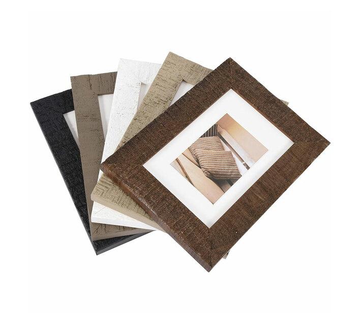 Driftwood 50x70 wooden frame dark brown