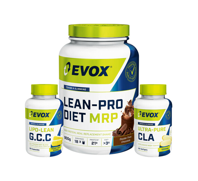 EVOX 900 g Lean Pro Diet Meal Combo