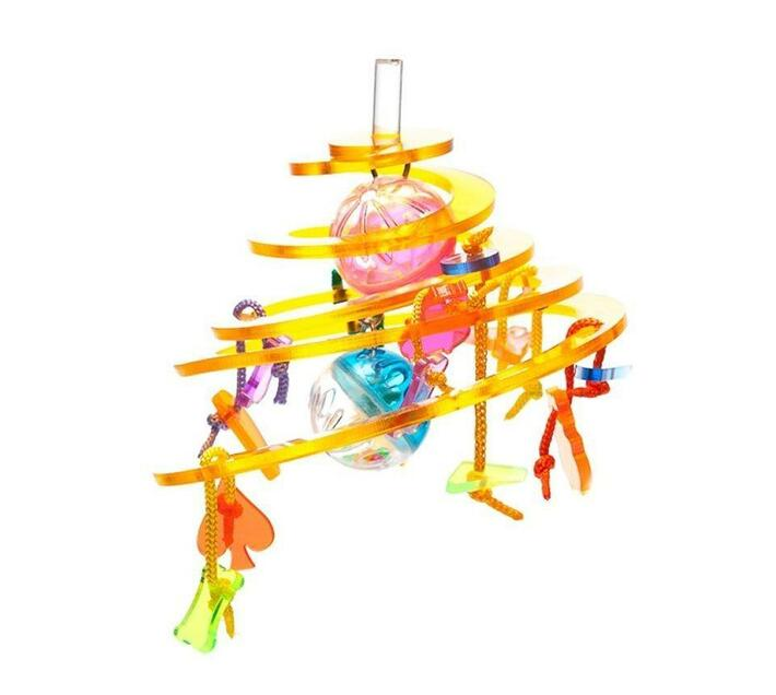Parrot World Acrylic Bird Toy - TAY-336
