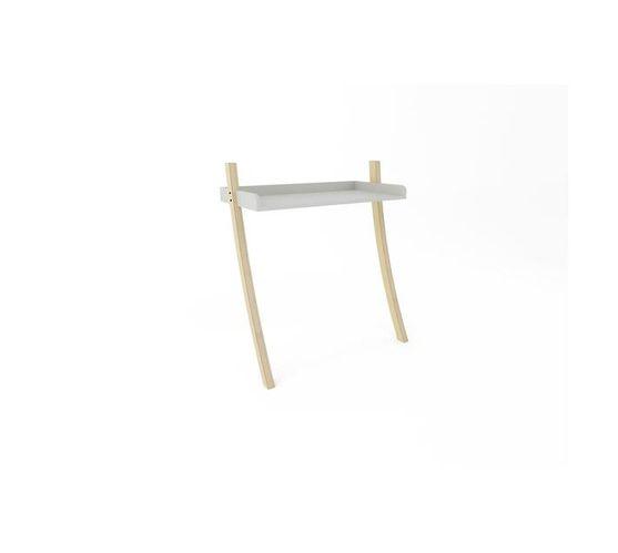 Leaning Desk - White