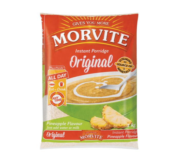 Morvite Porridge Pineapple (1 x 1kg)