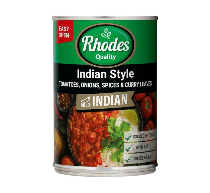 Rhodes Tomato Indian Style (1 X 410g)
