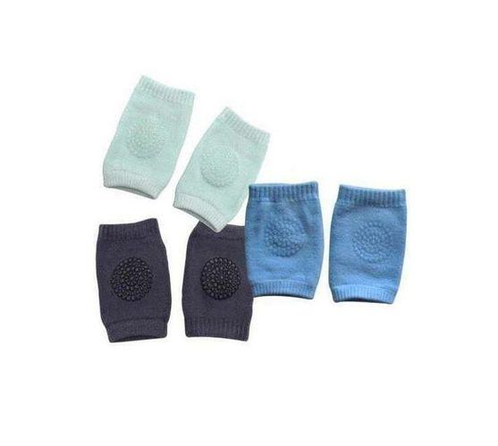 Totland Set of 3 Baby Boy Knee Pads