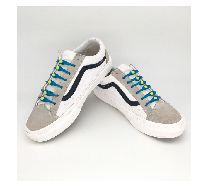 No Tie Shoelaces – Light Blue