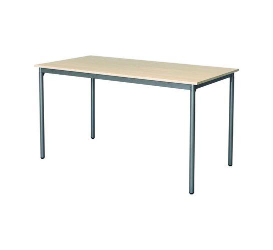 1370 mm Rectangular Training Table