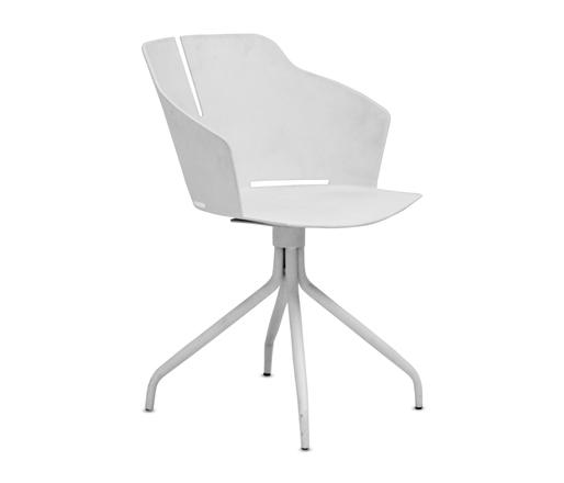 GOF Furniture - Zoomo Plastic Chair - White