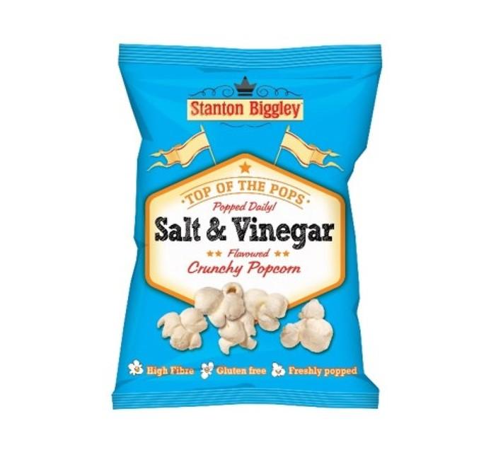 Stanton Biggley Popcorn Salt and Vinegar (12 x 45g)