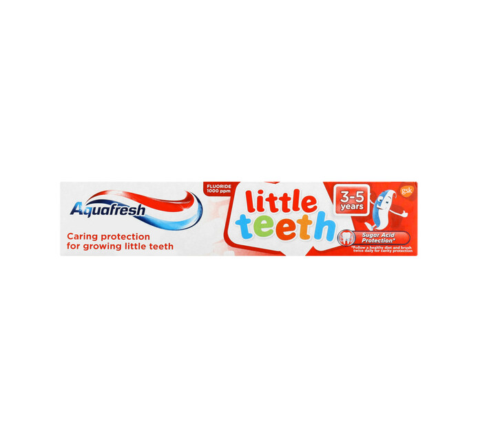 Aquafresh Kids Toothpaste Little Teeth (1 x 50ML)