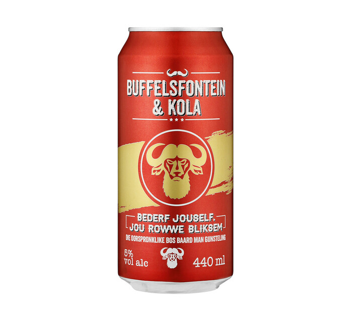 Buffelsfontein Brandy & Kola (6 x 440 ml)