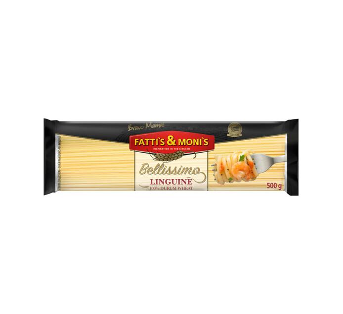 Fatti's & Monis Bellissimo Durum Wheat Pasta Linguine (1 x 500g)