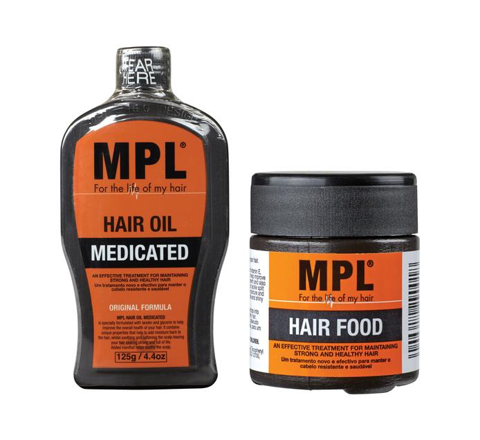 MPL Twinpack Hair Food (1 x 125g + 60g)